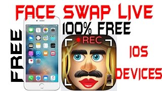 Get *Face Swap Live* for free on ANY iOS Device | iPhone, iPad, iPod | March, 1 2016