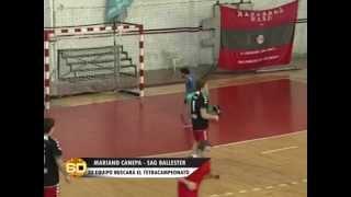 Handball: Mariano Canepa - SAG. Ballester - 11/08/2015