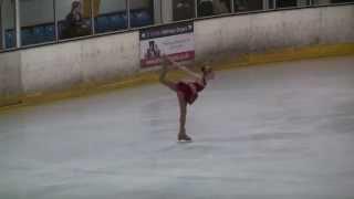 preview picture of video 'Danielle Harrison - Samson and Delilah - Bracknell IJS 2013 - Senior Free ... Ice Skate'