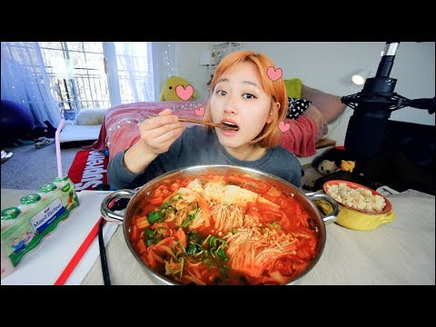 Best Pork Kimchi Stew I ever made..... Mukbang   KEEMI★