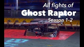 Battlebots  All fights of Ghost Raptor