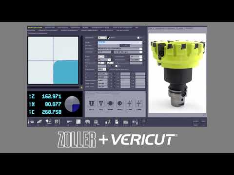 ZOLLER TMS to VERICUT Interface