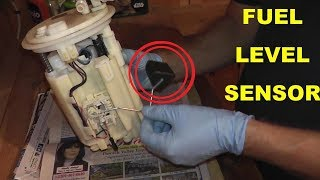 Fuel Pump Level Sensor Testing and Replacement