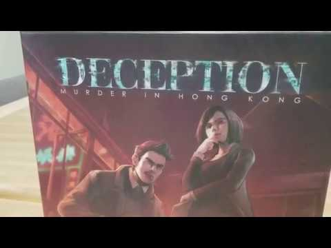 Deception Murder in Hong Kong: How to Play