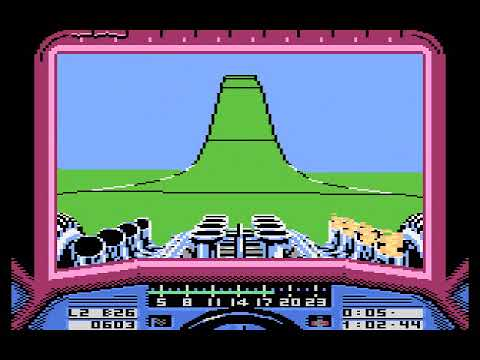 Atari 8-bit - Stunt Car Racer (game)