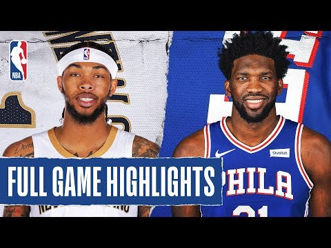 PELICANS at 76ERS | FULL GAME HIGHLIGHTS | December 13, 2019