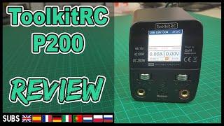 ToolkitRC P200 - Alimentatore PSU Review