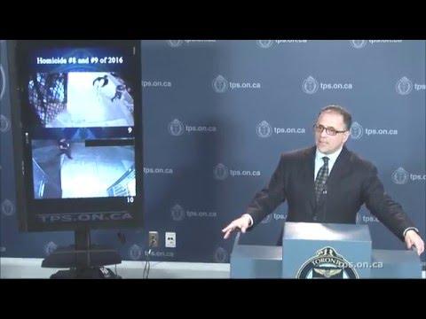 Homicide #8-9/2016 Update | @TorontoPolice S/Insp. Greg McLane