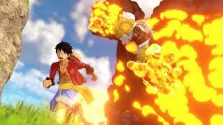 One Piece: World Seeker - Akainu Admiral Full Boss Battle Gameplay (HD)ワンピース ワールドシーカー