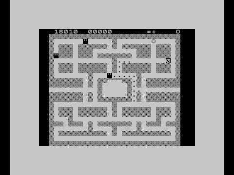 ZX81 Pacman in ZX81 emulator for ZX-Spectrum (por AOC)