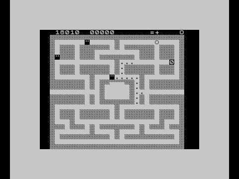 ZX81 Pacman in ZX81 emulator for ZX-Spectrum (por AOC)
