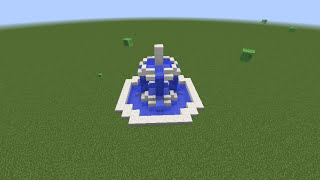 Minecraft: How To Make A Fountain