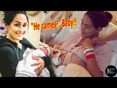 """""""He came !!"""", Nikki Bella and Artem Chigvintsev welcomed their first son after 39 weeks pregnant"""