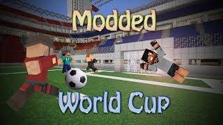 Minecraft: MODDED WORLD CUP (Sports Mod Minigame)