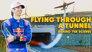 Flying A Plane Through Tunnels | Behind The Scenes