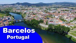 Barcelos, Portugal (4K, DJI Phantom 3 Pro)