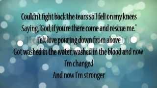 Something In The Water  Carrie Underwood (lyrics)