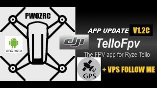 TELLO FPV 1.2C BETA TEST / GPS & VPS FOLLOW ME MODE EXPERIMENT