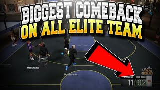 BIGGEST COMEBACK EVER IN NBA 2K19 WITH A 99 OVERALL!