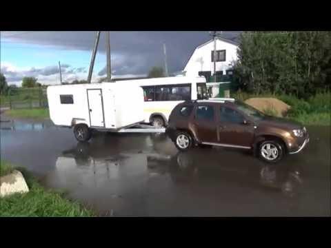 Прицеп Via Lander для путешествия Крым - Байкал на Audi Q7 (Part2)