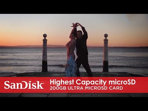 World's Highest Capacity microSD Card—200GB SanDisk Ultra microSDXC UHS-I Card