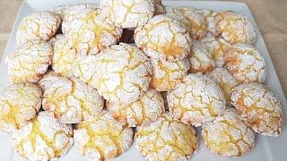 Pâtisserie orientale – biscuit orange coco