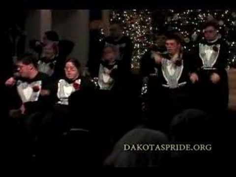 Veure vídeo Down Syndrome singing ''Let There Be Peace on Earth''