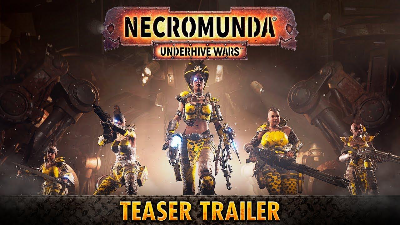 Necromunda Underhive Wars Viaja De Los Juegos De Mesa A Las
