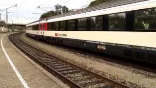 preview picture of video 'EuroCity 194 Munich-Zurich @Lindau'