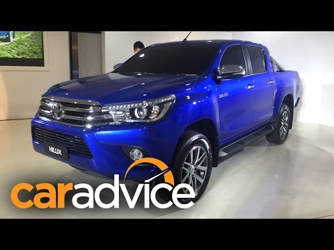2016 Toyota Hilux (Revo) Reveal : Walkaround