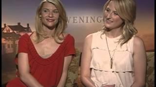 "Claire Danes & Mamie Gummer""Evening""Stephen Holt Show"