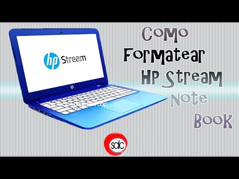 Como Formatear HP Stream Notebook Win 10 lite