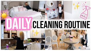 MY DAILY CLEANING ROUTINE! REAL MOTIVATION FOR ANY MOM + HOMEMAKER | CLEAN WITH ME 2019 | Brianna K