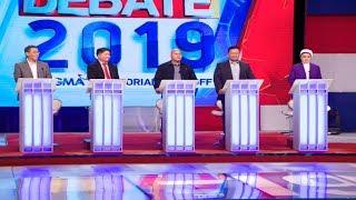 #Debate2019: Diokno, Gadon, Dela Rosa, Ejercito, Gutoc | Round 1