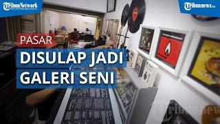 Berkunjung ke Galeri Kreasi Perupa Jakarta Pasar Gembrong Baru
