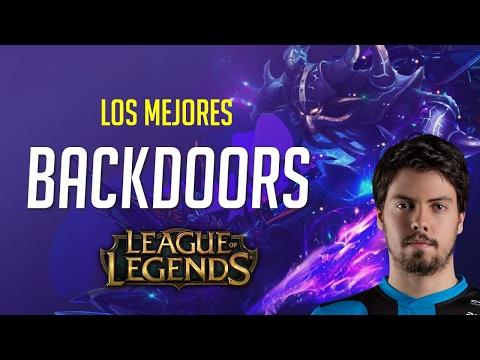 TOP 10 BACKDOORS más ÉPICOS de League of Legends
