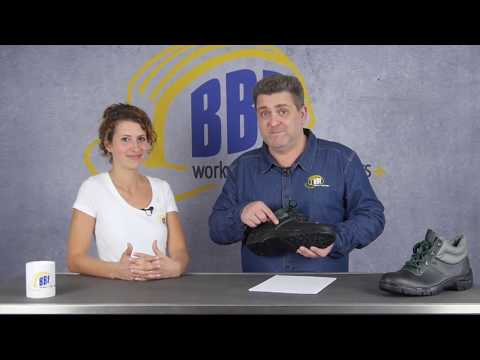 Arbeitsschuhe S3 mit Stahlkappe- und Sohle zum TOP- Preis bei BBF24