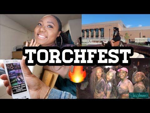 HBCU College Vlog Bowie State | Torchfest