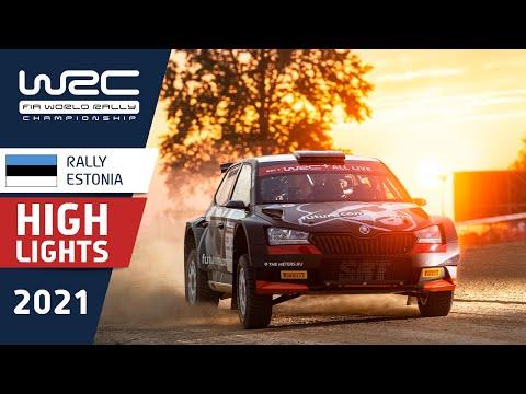 WRC3 2021 第7戦ラリー・エストニア 土曜日のハイライト動画