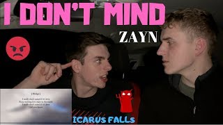 THICK CARAMEL | ZAYN - I DON'T MIND | GILLTYYY REACTION