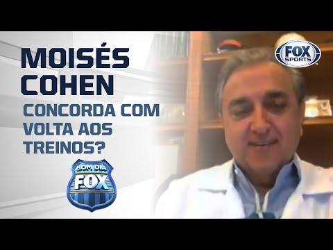 VOLTA DE FUTEBOL NO BRASIL   MÉDICO ESCLARECE DÚVIDAS