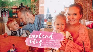 FAMILY WEEKEND VLOG - AN IKEA, NANDO'S & HOMESENSE TRIP & PLANNING ROOM MAKEOVERS