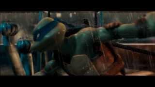TMNT - Leonardo vs The Nightwatcher