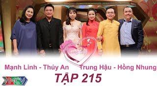 VỢ CHỒNG SON | Tập 215 FULL | Mạnh Linh - Thúy An | Trung Hậu - Hồng Nhung | 011017💑