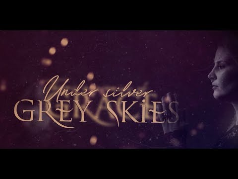 Under Grey Skies Lyric Video [Feat. Charlotte Wessels of Delain]