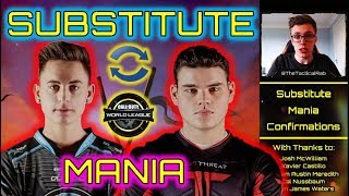 """Substitute Mania"" Underway! | Methodz to UYU! | CWL 2019 CoD BO4 Competitive"