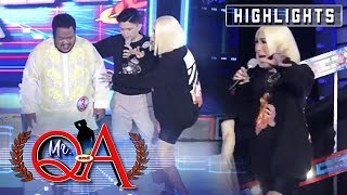 Vice Ganda Screams Out Of Fear   It's Showtime Mr Q And A