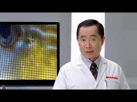 George Takei Shills For Sharp's New, Uh, Yellow-centric TVs