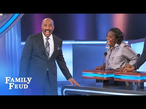 Family fued boob