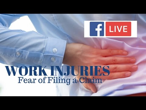 Video - Is Your Company Scaring You From Filing an Injury Claim?
